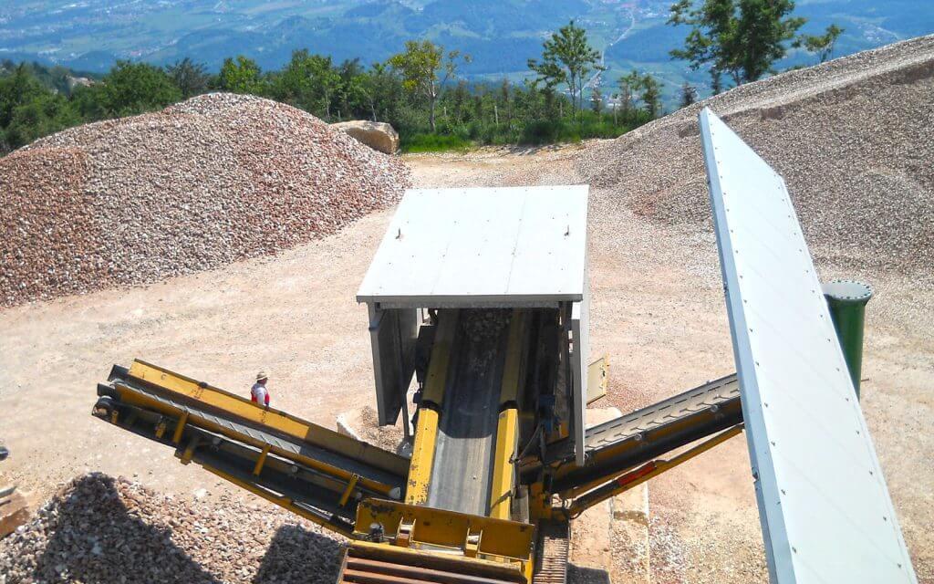 ImpiantI lavorazione materiali inerti asiago