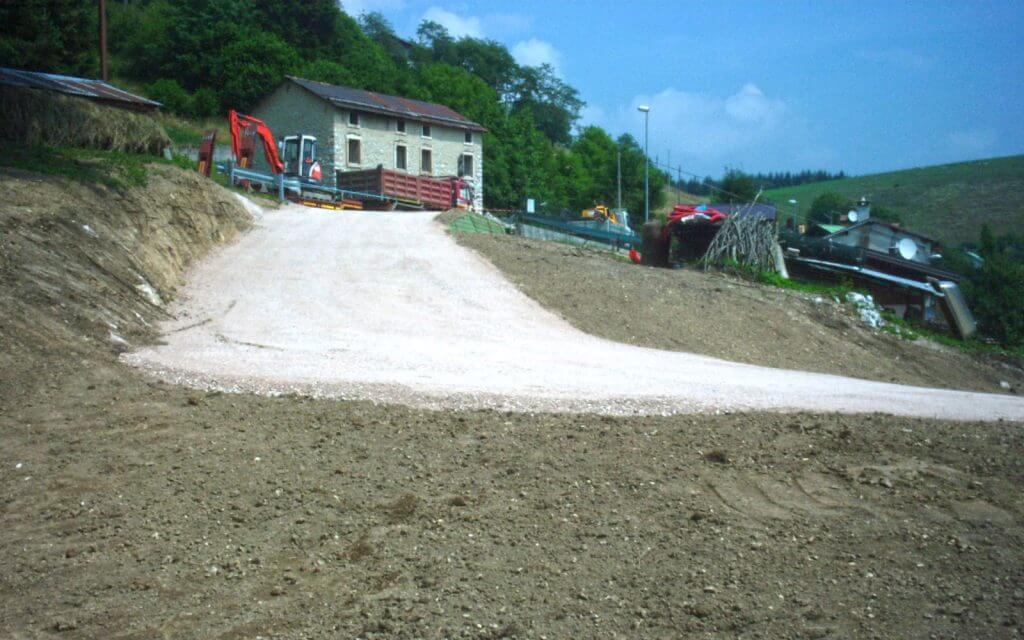 realizzazione scavi impianti fognari Asiago